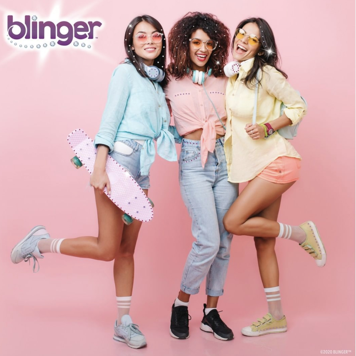NEW DIY - Blinger™ is the new Glam Styling Tool that allows you to Load, Click, BLING – Hair, Fashion ANYTHING!