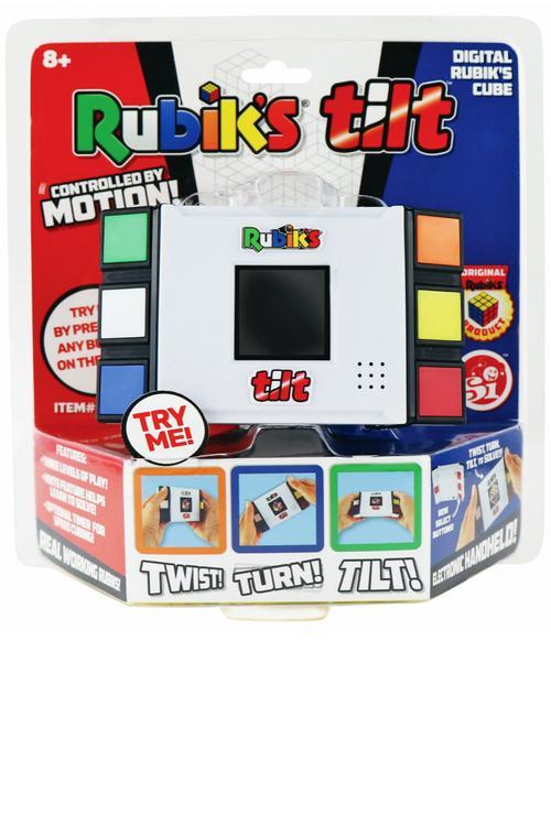 Rubik's Tilt requires brain power and hand/eye coordination! Tetris Tilt now available!