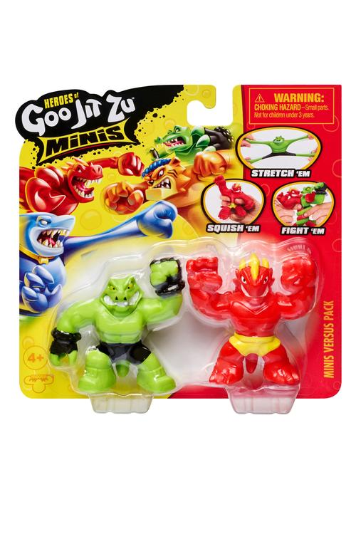 Hot Item! Heroes of Goo Jit Zu is back with mini packs and dino power! TV Advertised.