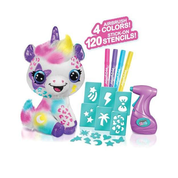 Airbrush Plush Unicorn