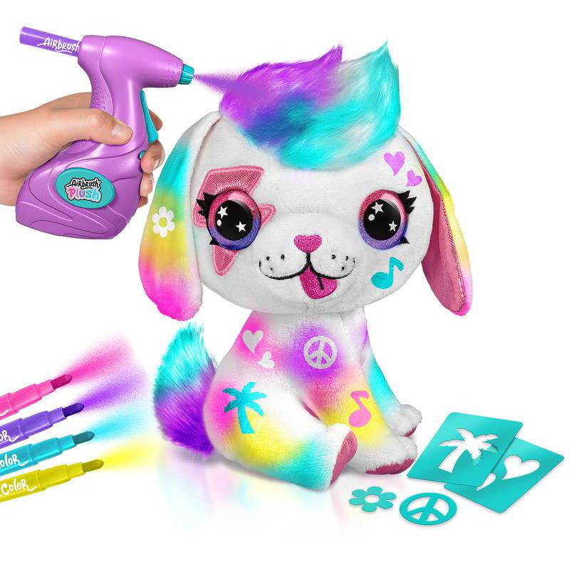 DIY Airbrush Plush Puppy