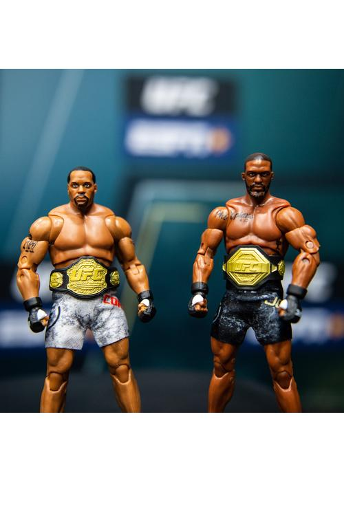 New UFC Figures! Collect your favorite fighters.