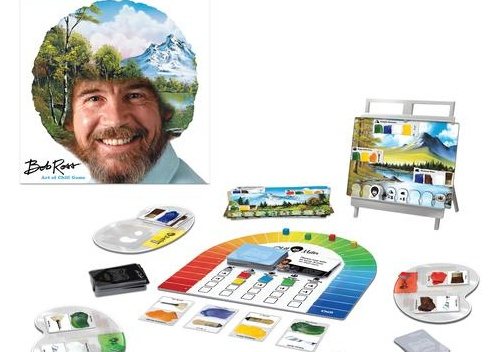 New Wholesale Bob Ross Board Games at License 2 Play!
