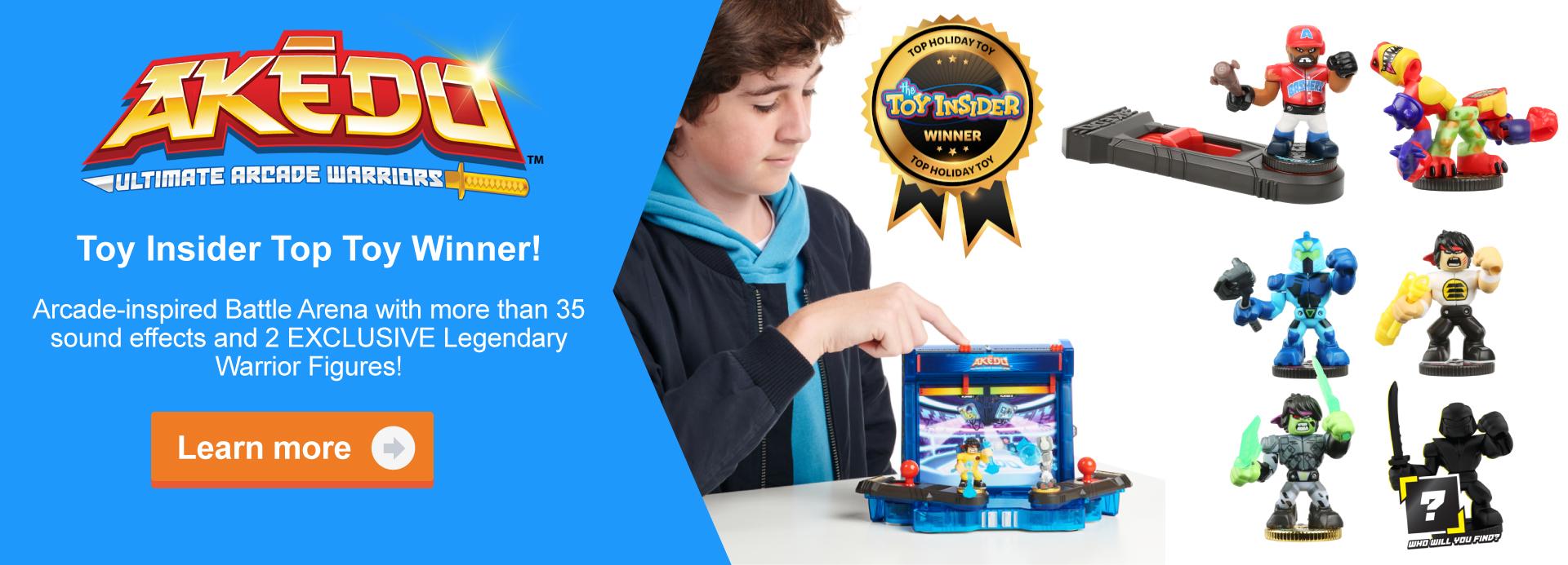 Akedo Ultimate Arcade Warriors